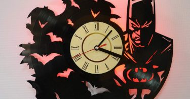Iskra Shop Batman MOVIE RED LED Wall Lights