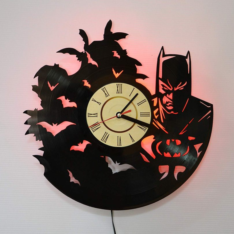 Iskra Shop Batman MOVIE RED LED Wall Lights