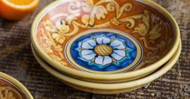 Rosone Ocra Sicilian Baroque Soup & Pasta Bowl