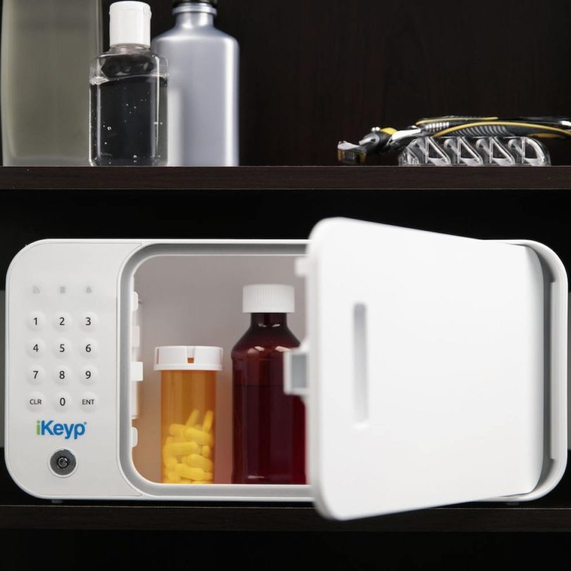 Smartphone Enabled iKeyp Smart Safe