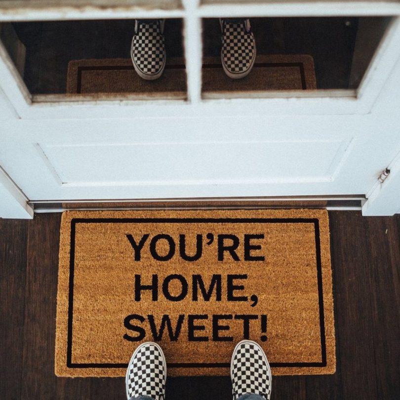 You're Home, Sweet! Doormat