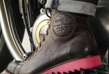 Dean Motorcycle Boots D3O Protection by Umberto Luce