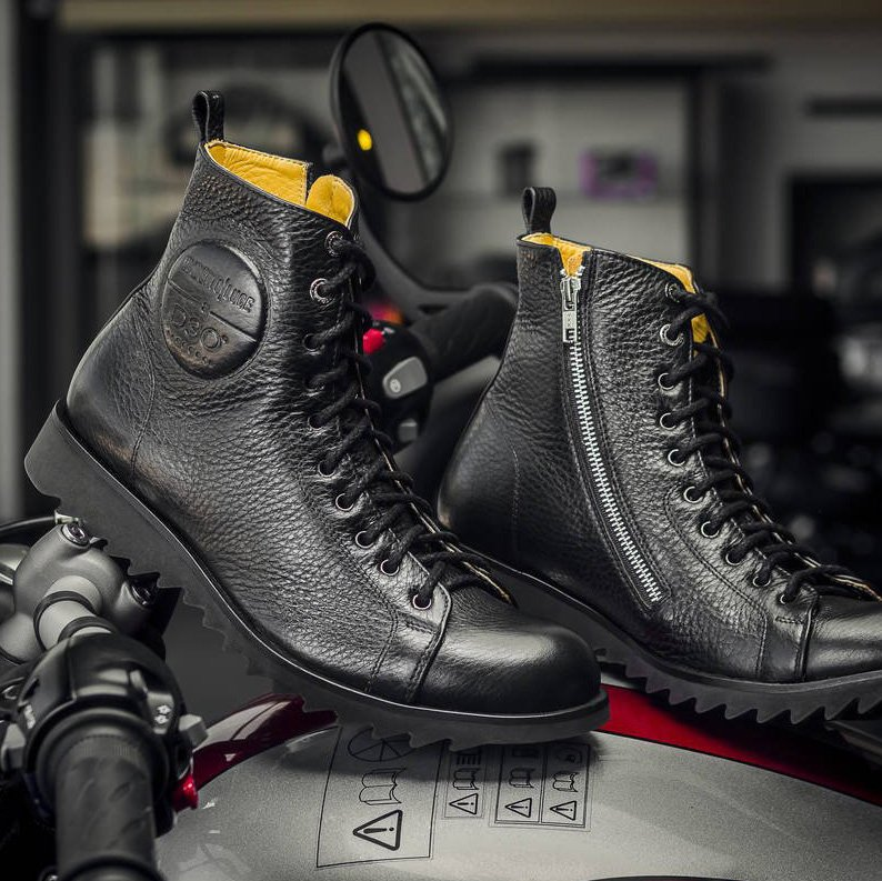 Cruise Motorcycle Boots D3O Protection by Umberto Luce