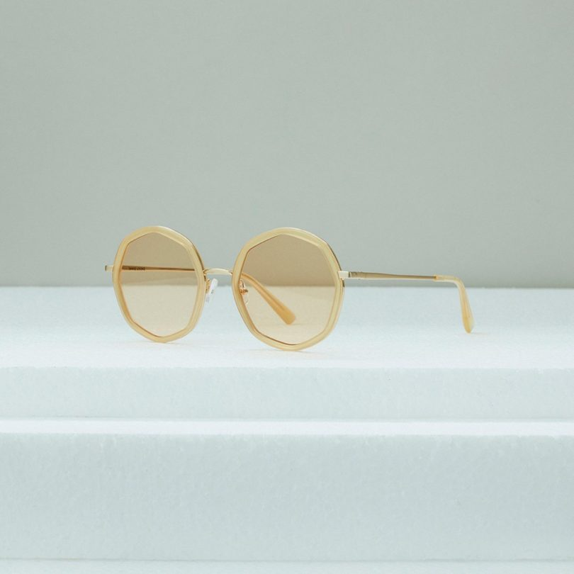 Sausalito Milky Honey Sunglasses