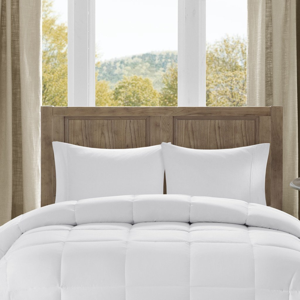 Mandarin Home Luxury 100% Rayon Derived From Bamboo Comforter with Goose Down Alternative Fill