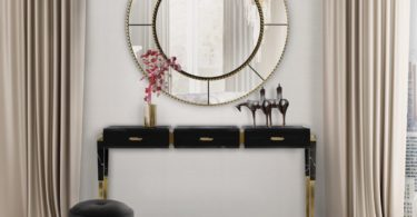 Spear Console from Covet Paris