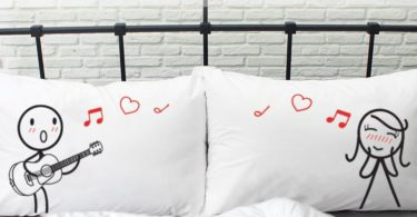 Love Me Tender His & Hers Pillowcases