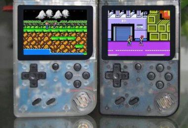 Mini Nostalgic Handheld Game Console