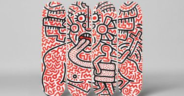 Keith Haring Medusa Skateboard Decks Set of 4