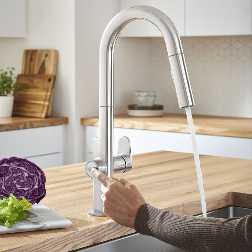 Beale MeasureFill Touch Kitchen Faucet