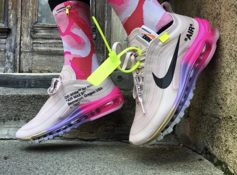 air max 97 barely rose outfit