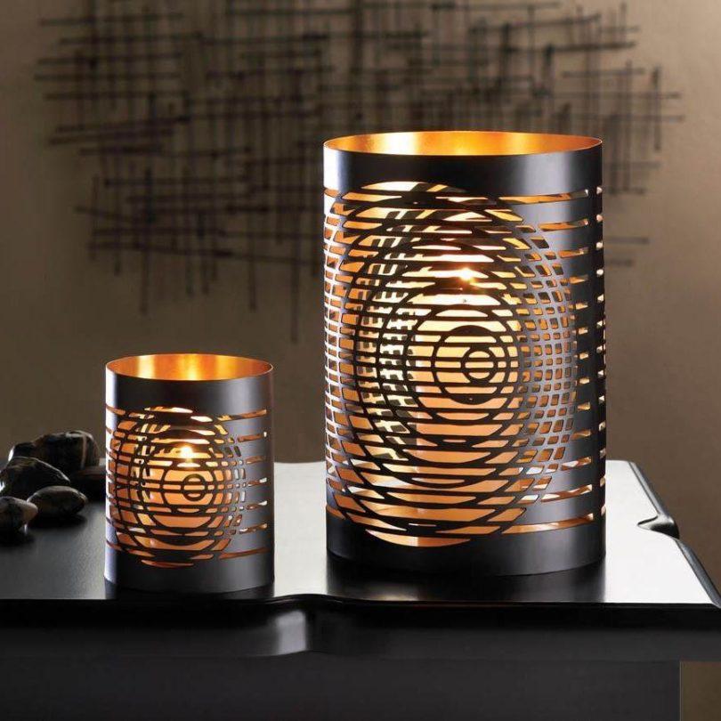Modern Chic Candleholder Set