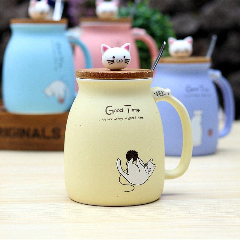 Funny Cat Ceramic Mug
