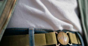 Khaki Green Elastic Belt