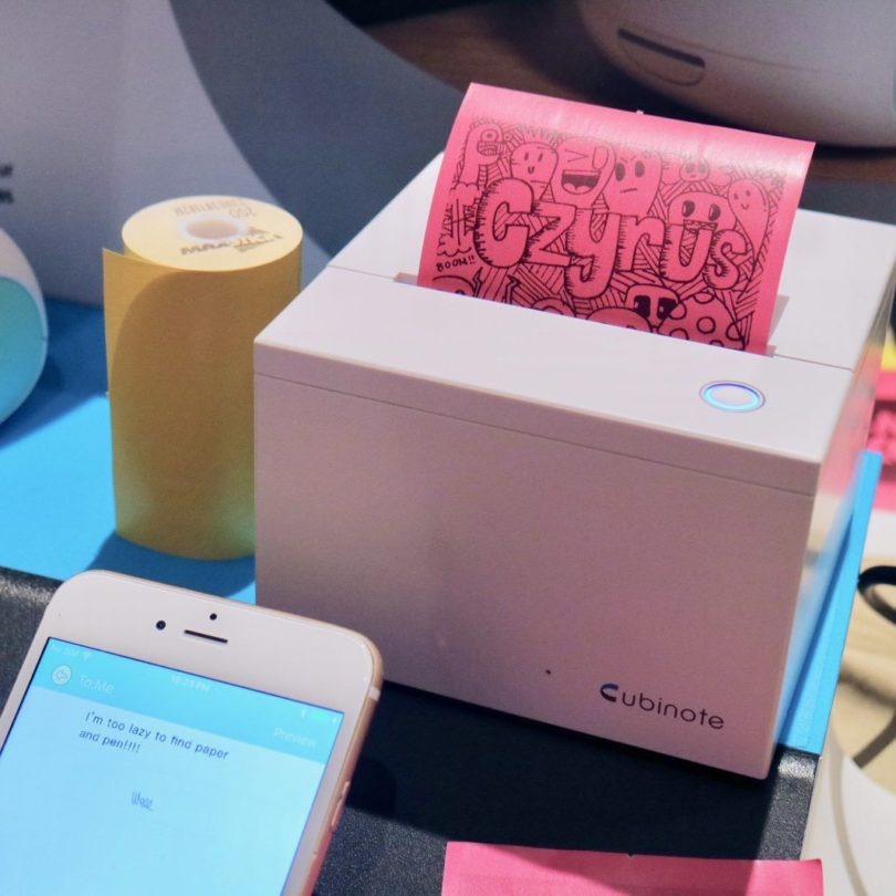 Cubinote Smart Sticky Note Printer
