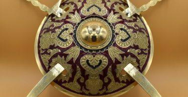 Handmade Arabic Shield