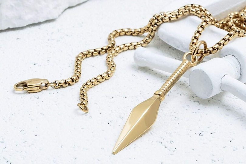 VITALY Kunai x Gold Pendant Necklace