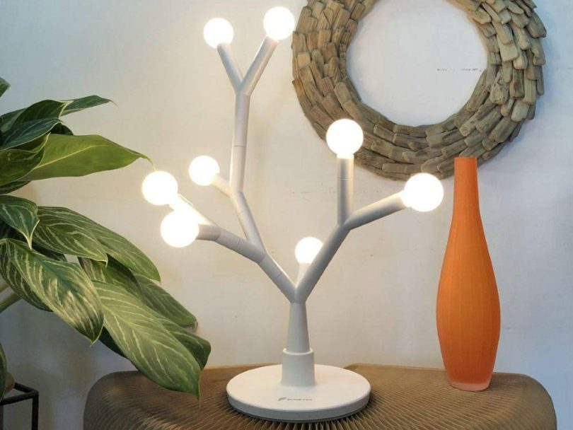 Led Table Lamp Decorative Tree Branch Petagadget
