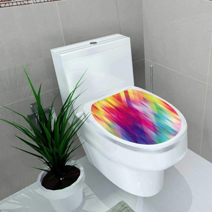 Auraise-home Toilet Seat Sticker