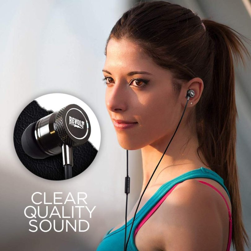 Stereo Headphone Earbuds with Mic