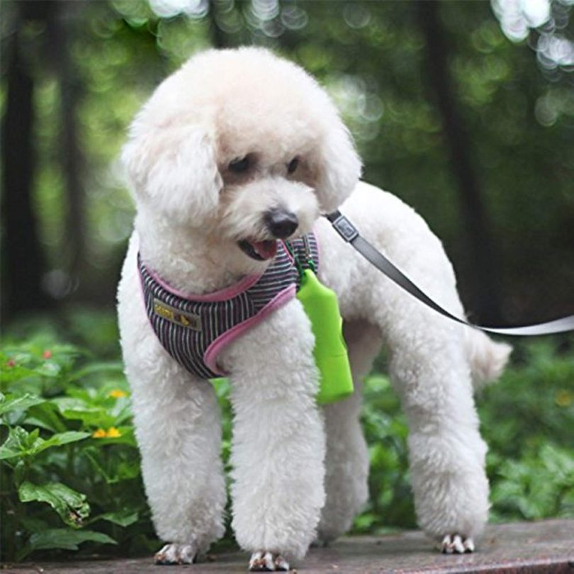 YOURPET Dog Poop Bag Dispenser with Waste Bags