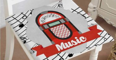 Mikihome Squared Seat Cushion Radio Box
