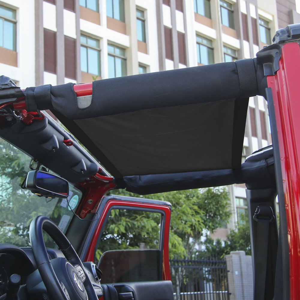 RT-TCZ New Style Black Car Roof hammock