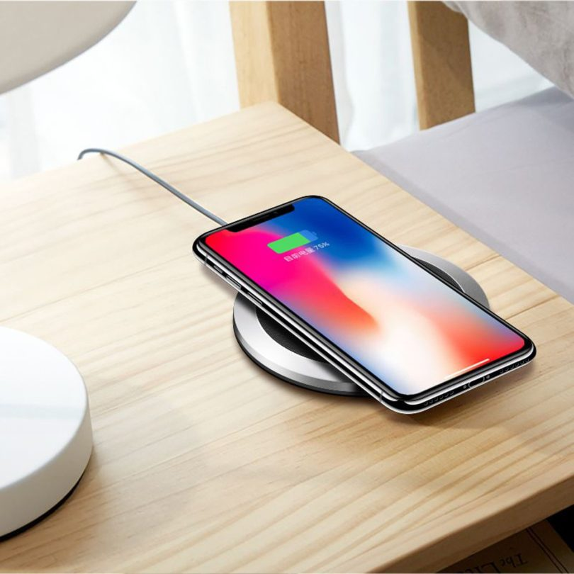 Clear Qi Wireless Fast Charging Dock