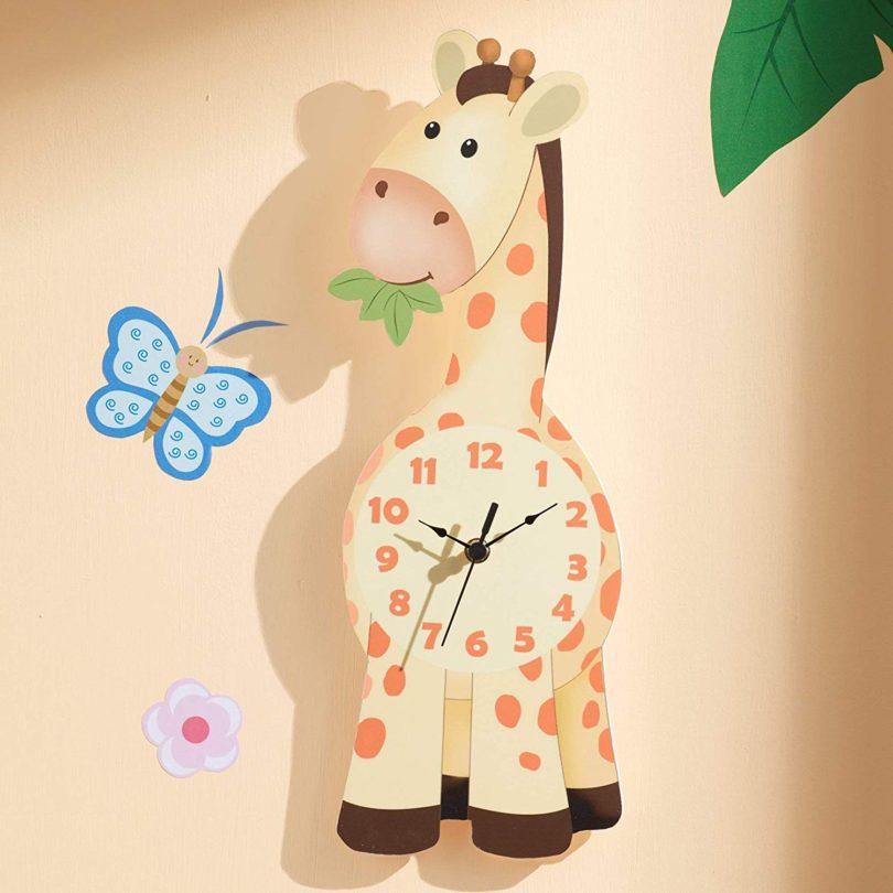 Fantasy Fields Sunny Safari Kids Wall Clock