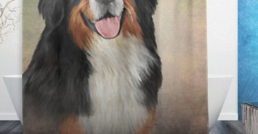 My Daily Bernese Mountain Dog Shower Curtain