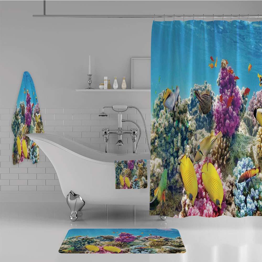 iPrint Bathroom 4 Piece Set Shower