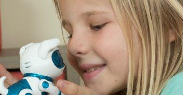 Tekno Newborns Pet Dog Toy Robotic Puppy Interactive