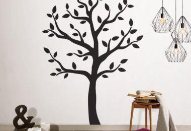 Timber Artbox Large Black Tree Wall Decal