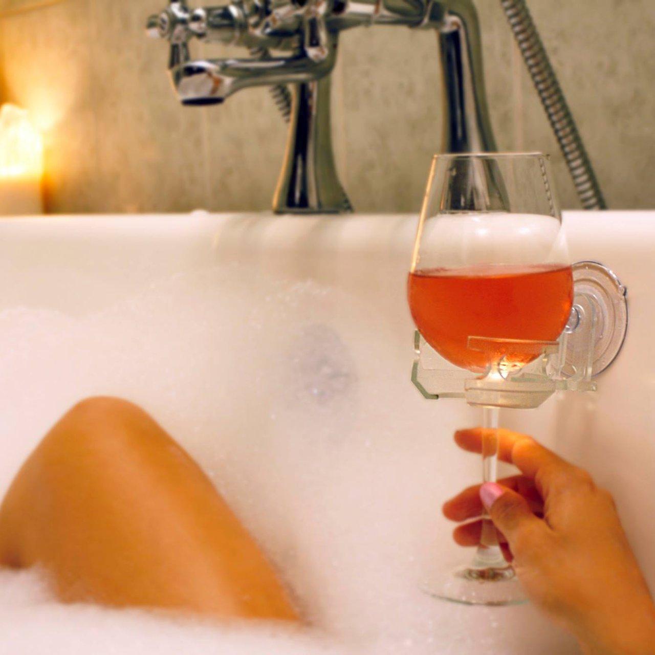 SipCaddy Bath & Shower Portable Cupholder Caddy