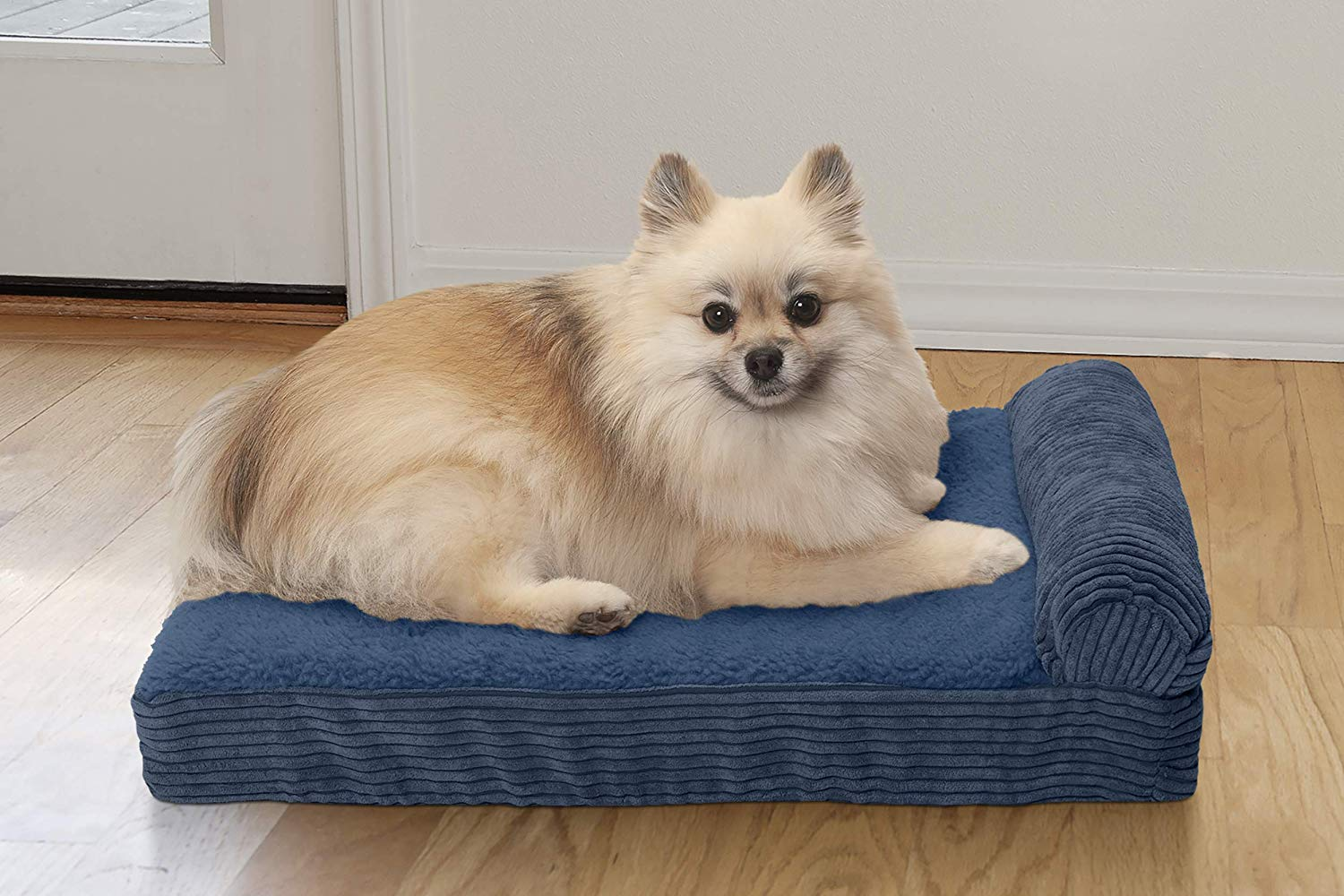 FurHaven Pet Dog Bed | Orthopedic Goliath Quilted
