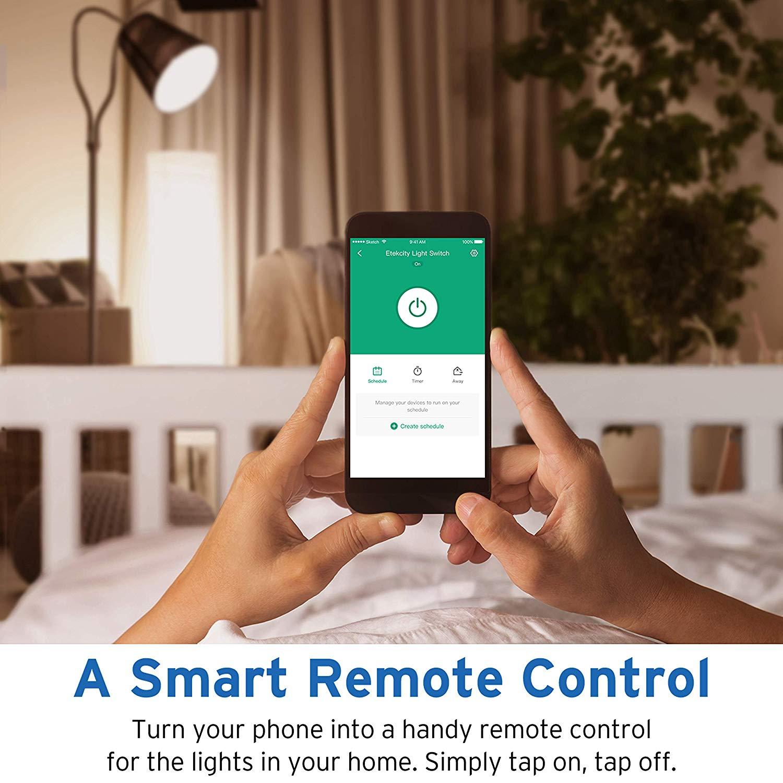 Etekcity Smart WiFi Light Switch with Timer