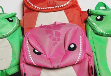 Little Monster Deluxe 2PK Backpacks