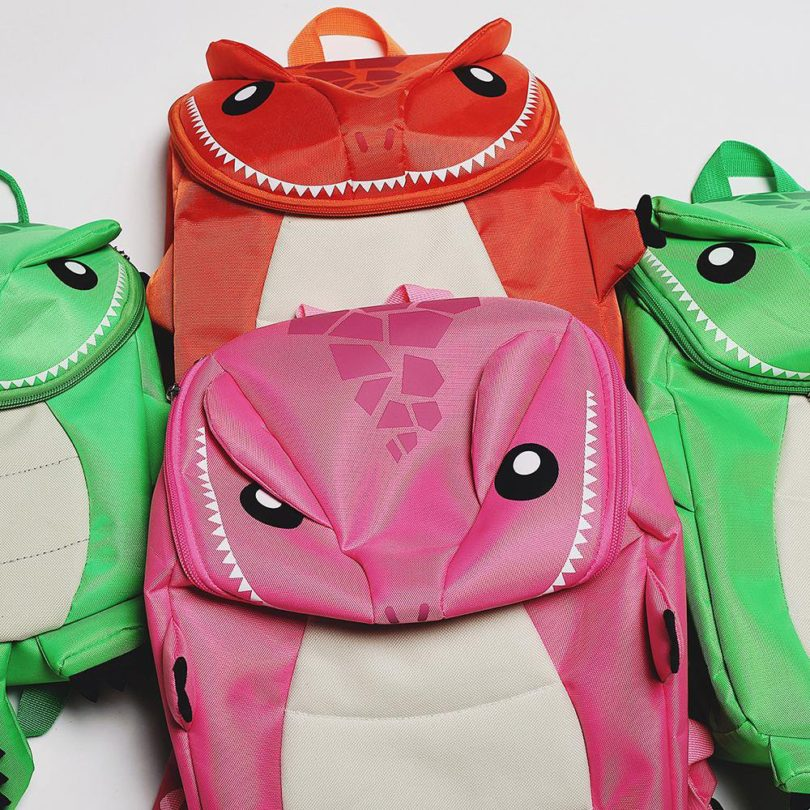 Little Monster Deluxe 2PK Backpacks