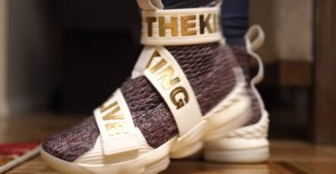 Nike Lebron 15 Life Kith Stained Glass