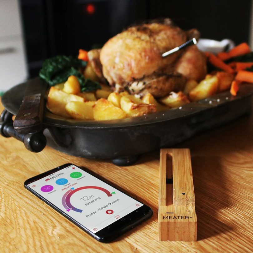 Meater Wireless Meat Thermometer » Petagadget