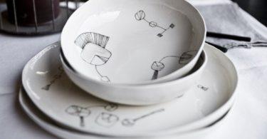 Aquatico Handmade Ceramic Dinner Set