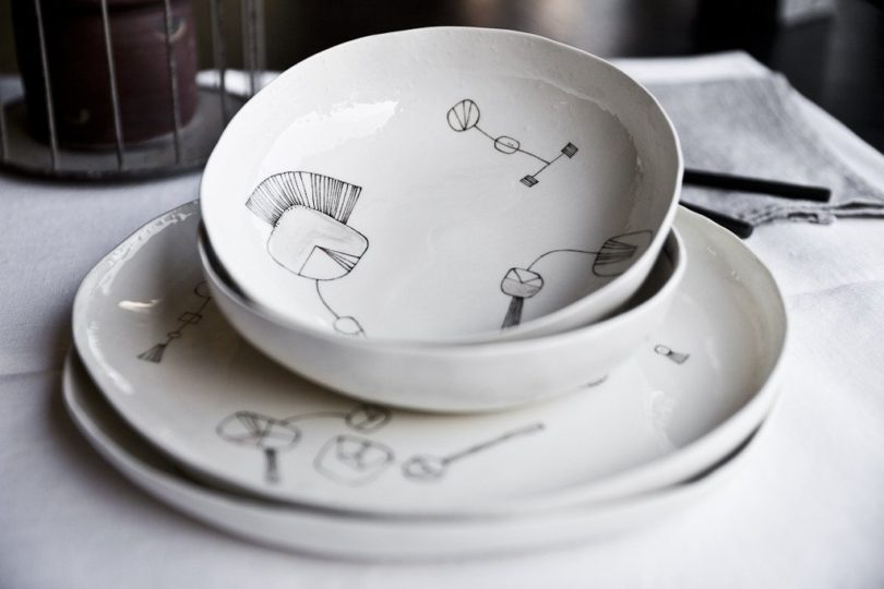 Aquatico Handmade Ceramic Dinner Set