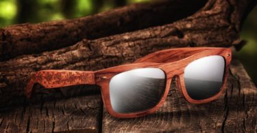 Earth Wood Maya Polarized Sunglasses
