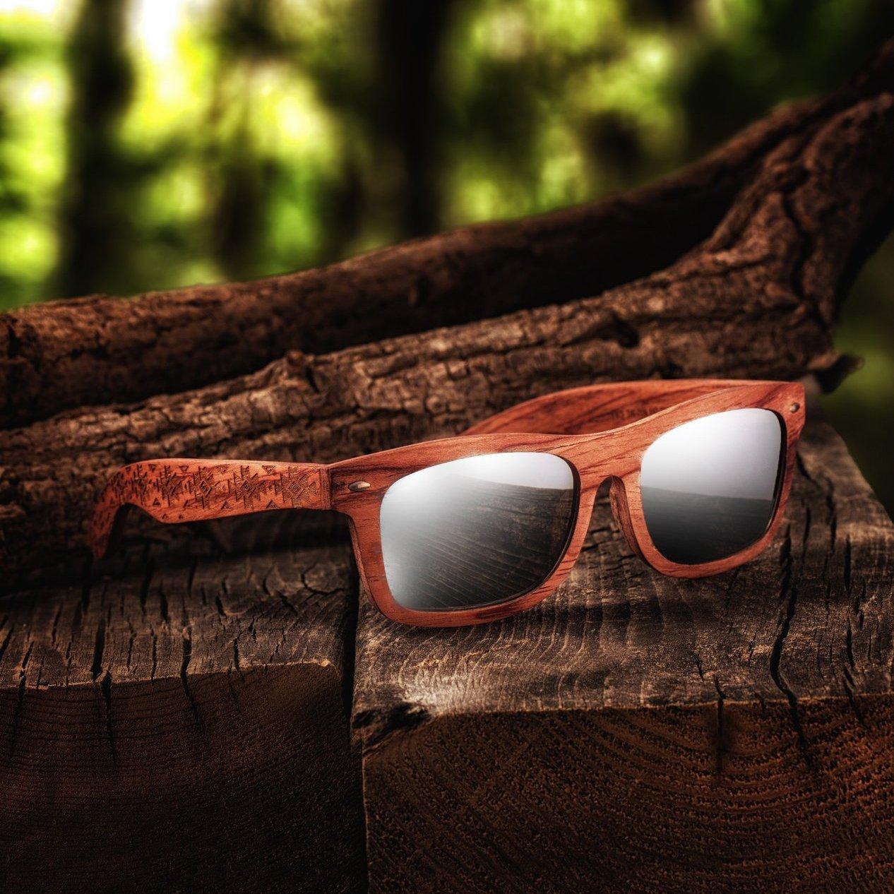 Earth Wood Maya Polarized Sunglasses