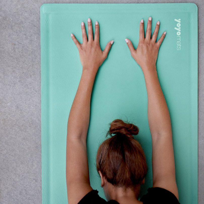 """The Cali + Roll SELF-ROLLING Yoga & Fitness Mats 28″x72"""""""