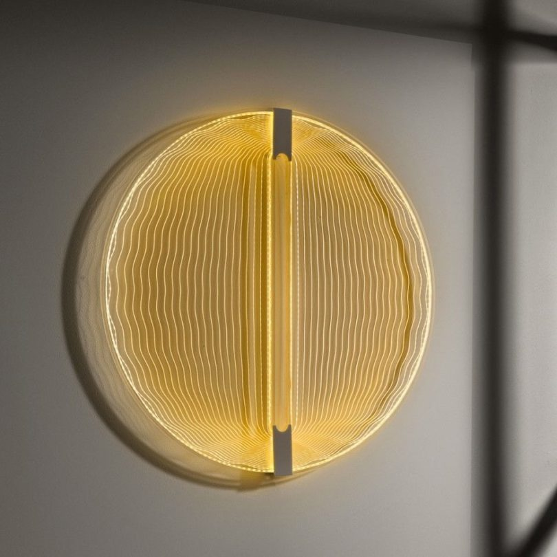 Thanks for the Sun Light Sculpture by Arnout Meijer Studio