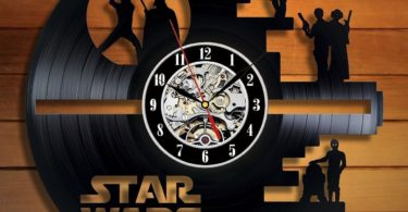 Star Wars Death Star Wall Clock