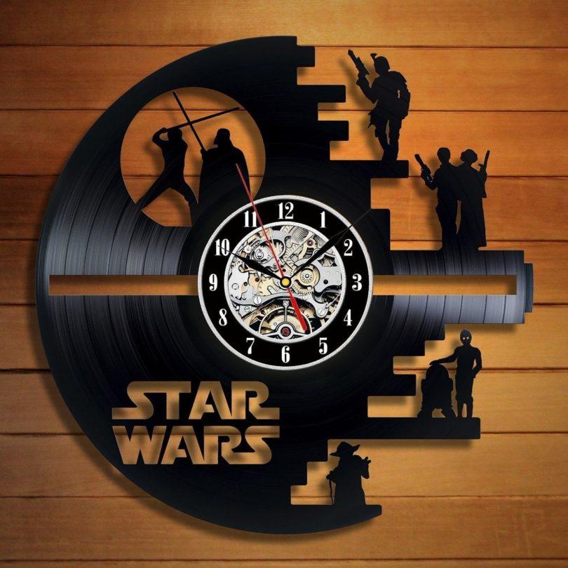 Star Wars Death Star Wall Clock