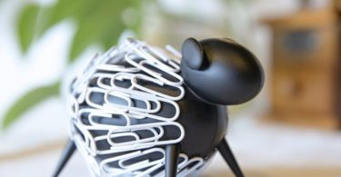 Sheepi Magnetic Paper Clip Holder