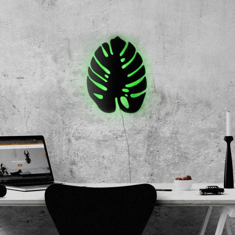 Monstera LED Wall Light